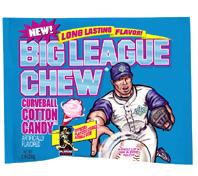 big league cotton candy gum