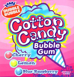 dubble bubble cotton candy