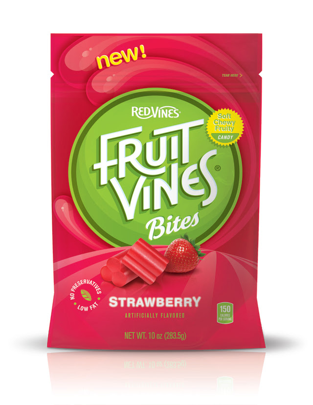New Fruit Vines® Bites To Celebrate 100 Years of Candy Making. Yumm!