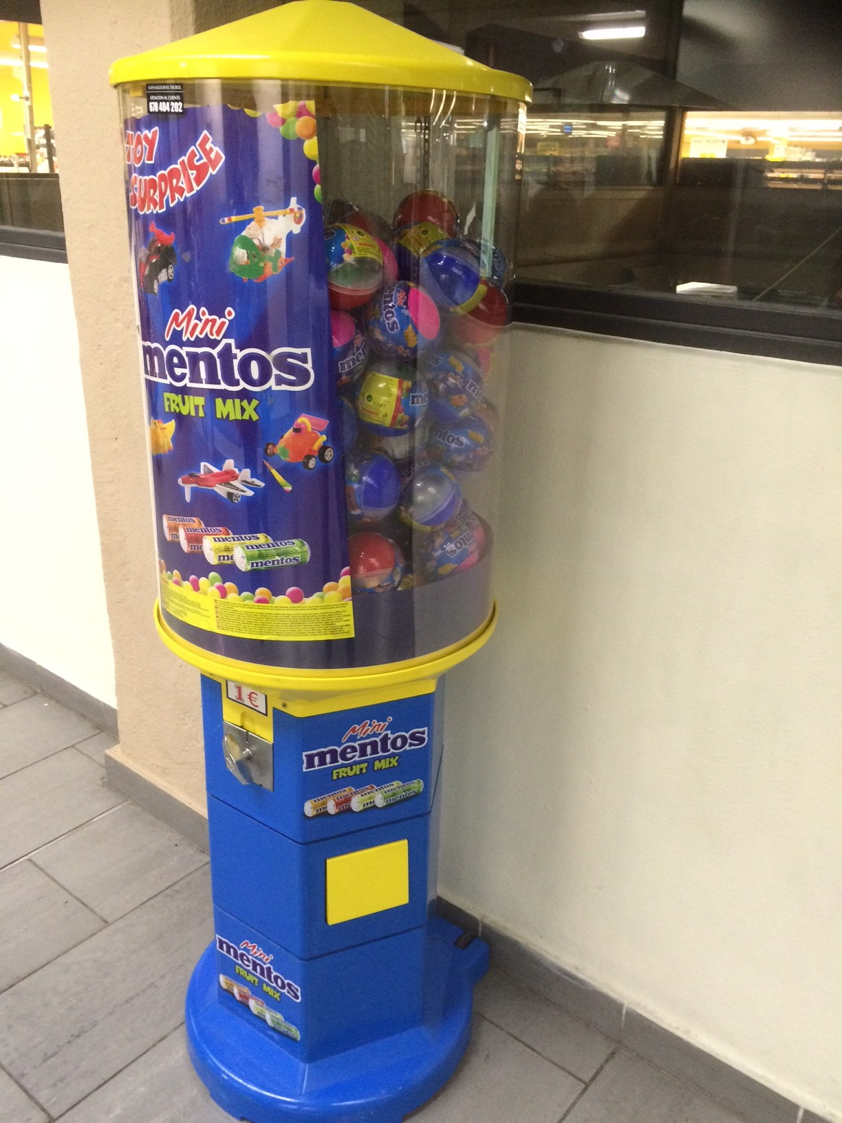 Mentos Dispenser Fun