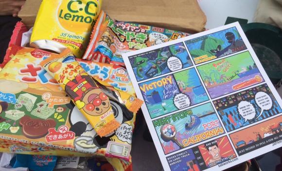 Japan Crate Package